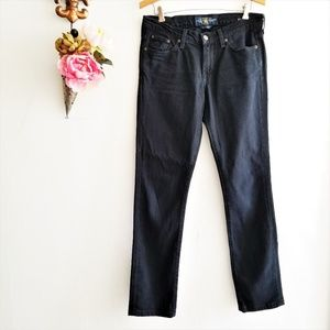 Lucky Brand Sweet'N Straight Black Jeans 4/27